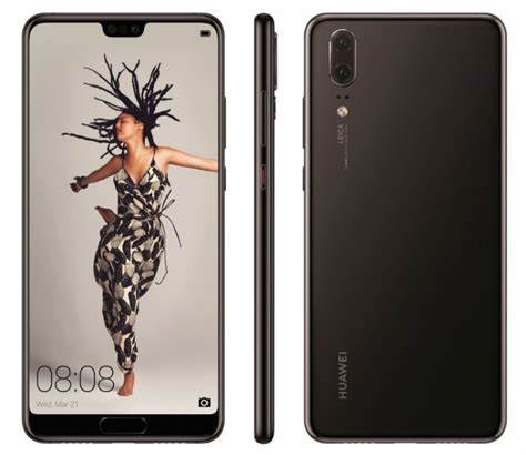 Huawei P20 Pro,P20 and P20 Lite and Press Renders Leaked ...
