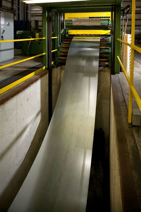 Our Processes: Leveling / Cut-to-Length