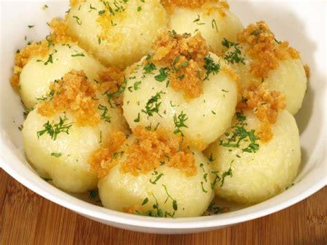 Kartoffelknödel Halb Und Halb