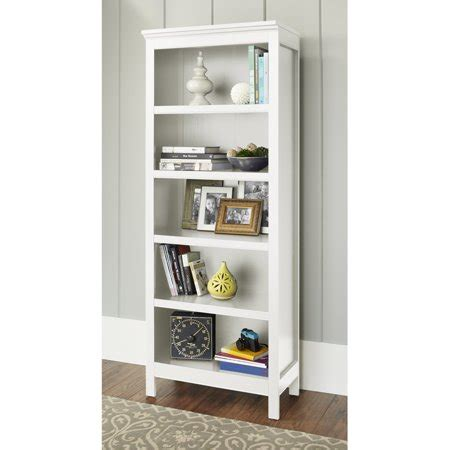Bookcases At Walmart by 10 Burlington Collection 5 Shelf Bookcase