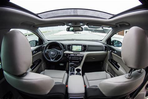 kia sportage 2016 interior kia sportage 2016 first drive egypt yallamotor