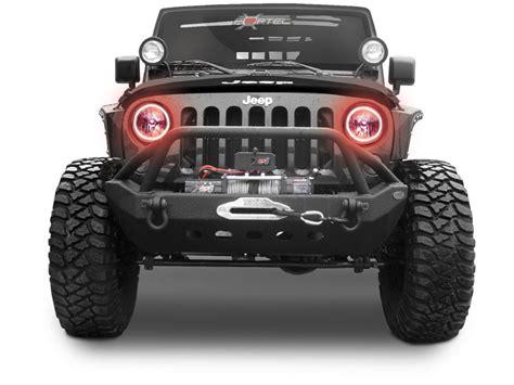 jeep halo lights halo ring halo ring headlights for jeep wrangler