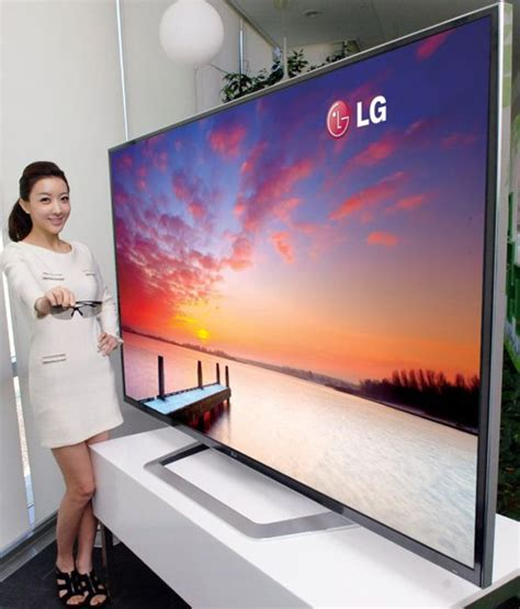 lg ships largest lcd tv this summer will its 4k rez help passive 3d cnet