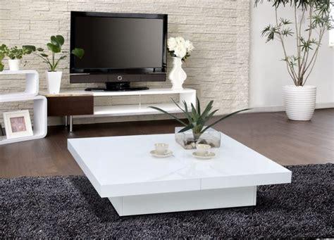 Table Basse Blanche Pour Salon En 20 Exemples Magnifiques