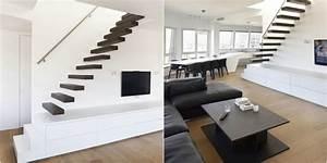 Aménagement Sous Escalier : amenagement entree avec escalier maison design ~ Preciouscoupons.com Idées de Décoration