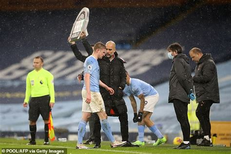 Man City talisman Kevin De Bruyne ruled out for four to ...