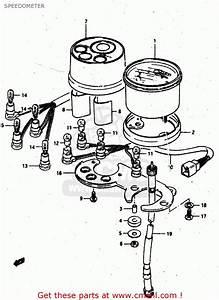 Suzuki Rv50 1981  X  Speedometer