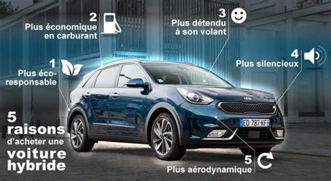 les cinq bonnes raisons dacheter une voiture hybride