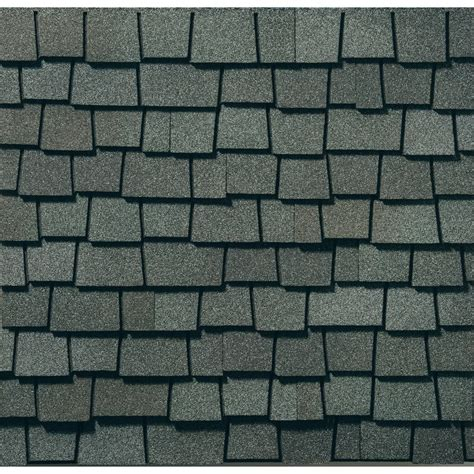 1 square of shingles is how many square shop gaf glenwood 11 11 sq ft chelsea gray laminated architectural roof shingles at lowes com