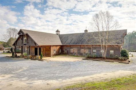 Alabama Barns by Equestrian Paradise 40 Acres In Sterrett Shelby County