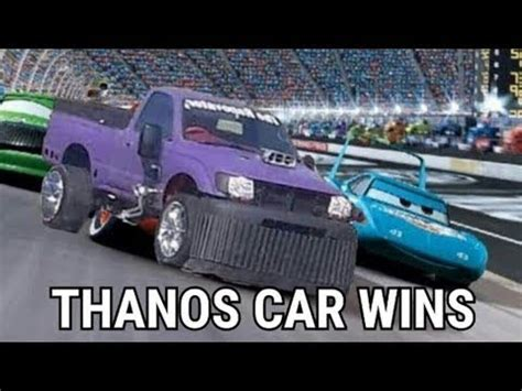 Thanos Car Is An Unstoppable Force Youtube
