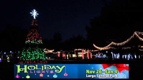 largo park holiday lights mouthtoears com