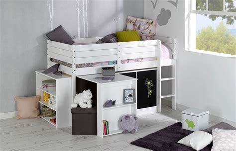 bureau et rangement set complet enfant paraiso blanc idkid 39 s
