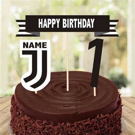 Juventus Cake Topper and Centerpiece Juventus Digital Cake ...