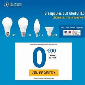 Ampoules Gratuites Edf : mes ampoules gratuites 5 ampoules led offertes avis ~ Melissatoandfro.com Idées de Décoration