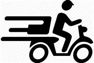 Delivery, fast, food, motorcycle, package, quick, speedy ...