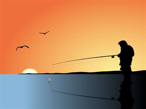 Fishing Man Backgrounds Black Orange Powerpoint Interiors Inside Ideas Interiors design about Everything [magnanprojects.com]