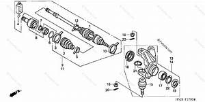 Honda Atv 2004 Oem Parts Diagram For Knuckle  Trx500fa U0026 39 01