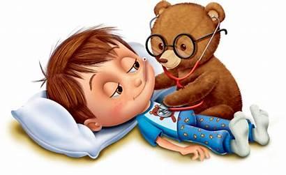 Doctor Illustration Boy Bear Cold Child Children