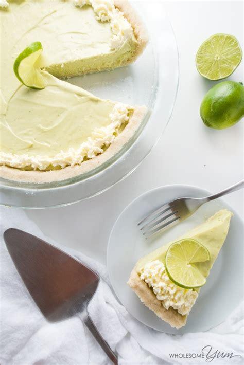 sugar  keto  carb key lime pie recipe wholesome yum