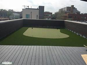 Synthetic Turf Illinois Rooftop Green Install Complete ...