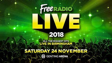 Buy Tickets For Free Radio Live 2018  Events  Free Radio