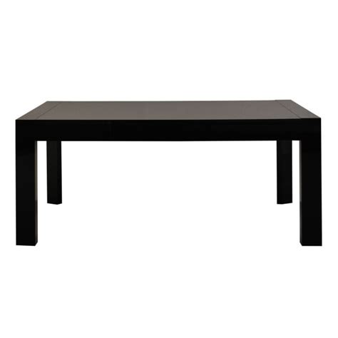 table a manger noir laque table a manger noir laque maison design wiblia