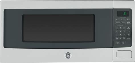 ge pemsfss  cu ft countertop microwave oven