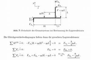 Lagerkräfte Berechnen : statik gleichgewichtsbedingung mathelounge ~ Themetempest.com Abrechnung