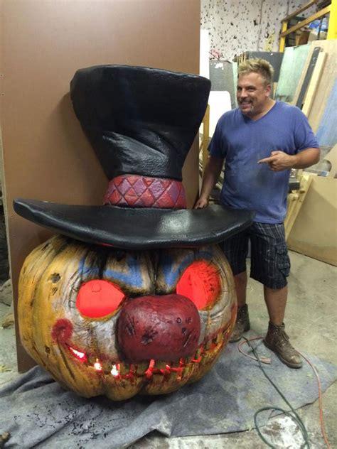 Giant Pumpkin Custom Work | Pumpkin Pulp Horror Halloween
