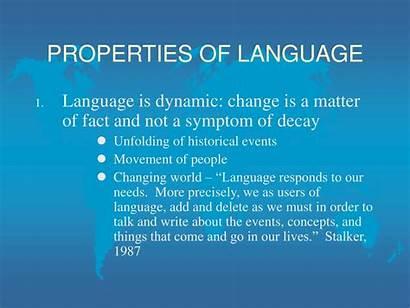 Language Properties Presentation Ppt Powerpoint Features Skip