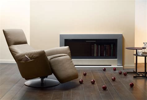fau livingroom modern recliner chair with leather material traba homes