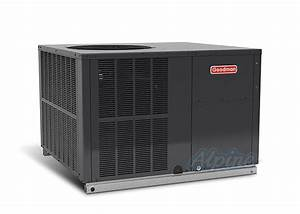 Goodman Gph1442m41 3 5 Ton 14 Seer Self Contained Packaged Heat Pump Multi Position