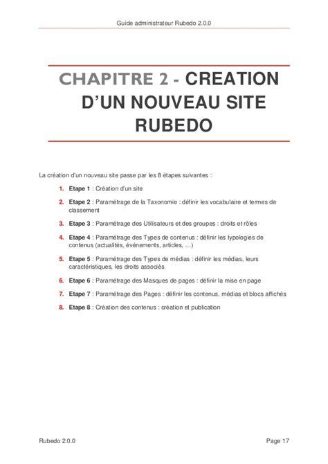 bureau virtuel cms guide administrateur cms nosql rubedo