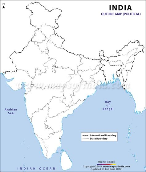 india political map   size