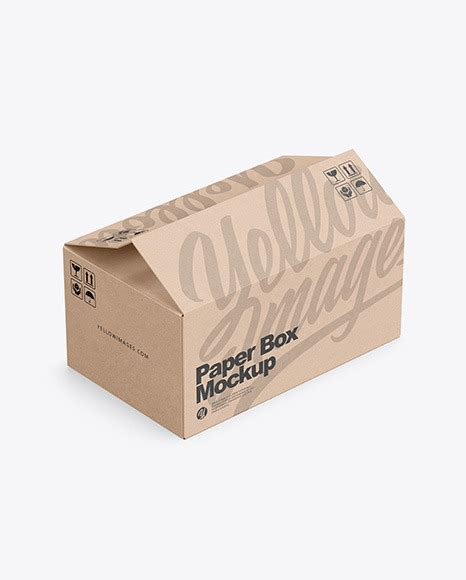 You can use this kraft paper bag mockup to help you present your design of a packaging. Download Kraft Paper Mailing Box Mockup Yellowimages ...