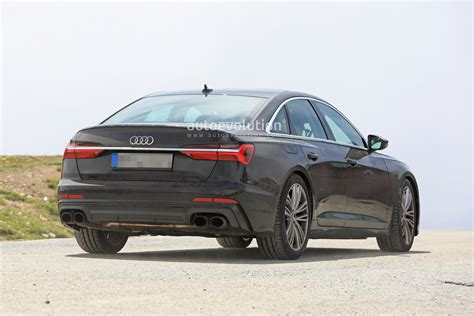 Audi 2019 S6 : 2019 Audi S6 Sedan Spied With Quad Exhaust