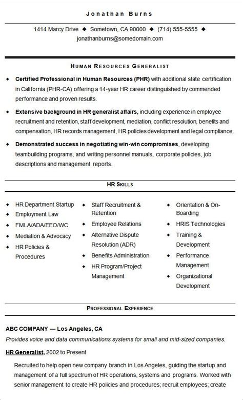hr resume templates  ms word pages  ai