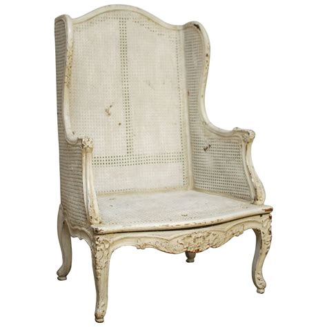 louis xv wingback bergere chair for sale at 1stdibs