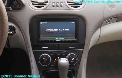 mercedes sl premium audio upgrade boomer nashua mobile
