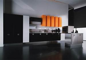 orange and black interiors living rooms bedrooms and With kitchen colors with white cabinets with salvador dali wall art