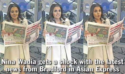 Asian Express Newspaper - Nina Wadia gets a shock with the ...