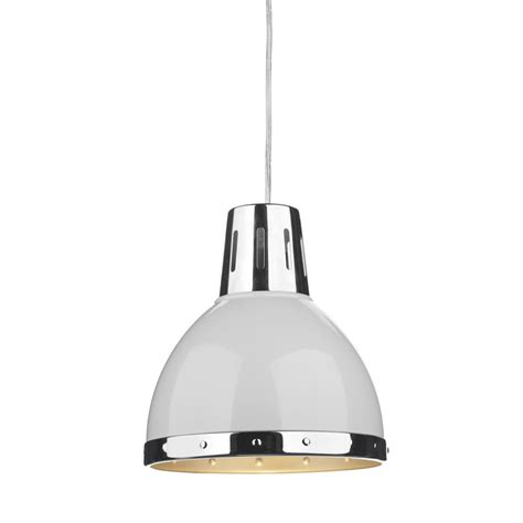 dar lighting osaka non electric ceiling pendant in a white