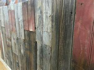 Barn wood paneling the faux board best house design for Barnwood panelling