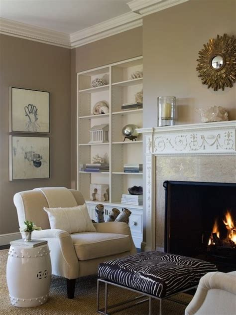 Cafe Colored Living Room by Mocha Latte Paint By Posquito For The Home Living Room