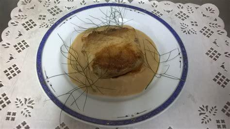 cuisiner les pieds de porc le croustillant de pied de porc aux chignons et roquefort