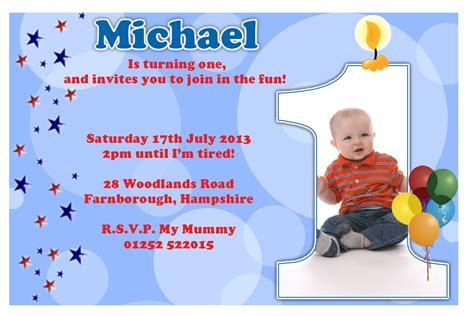 First Birthday Party Invitation Ideas Bagvania