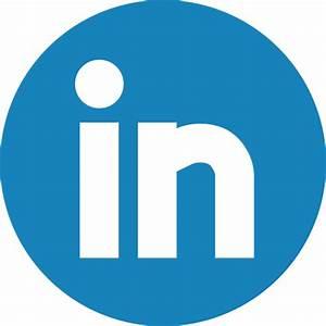 Linkedin Icon   Basic Round Social Iconset   S-Icons