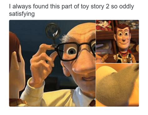 Toys Story Meme - i always found this part of toy story 2 so oddly satisfying toy story meme on sizzle