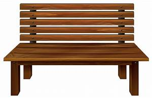 Park Bence clipart wooden chair - Pencil and in color park ...